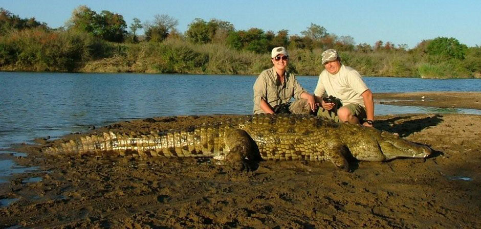 Crocodile Hunting Safaris in Africa | Dangerous Game Outfitters